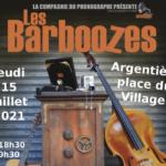 15 juillet : Les Barbouzes au Festivallée