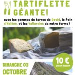 Tartiflette Géante à Vallorcine